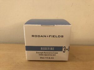 Rodan + Fields REDEFINE Step 3 PM Overnight Restorative Cream New in Box!