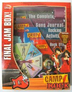 Disney Camp Rock Final Jam Box - Brand New Boxed - Jonas Brothers Demi Lovato