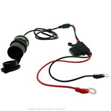 Waterproof Fused 12V Car Cigarette Lighter Socket Charger Outlet Hardwire Cable