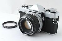 🌟 Near Mint 🌟 Olympus M-1 35mm SLR + Zuiko Auto-S 50mm F/1.8 Lens from Japan