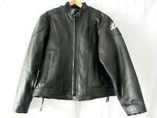 American Ironhorse Jacket Womens Motorcycle Xxl Black Leather Free Shipping Vgc