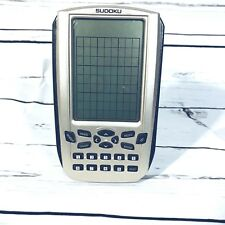Sudoku The Ultimate Numerical Challenge Handheld Game Travel Sounds Cards