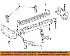 TOYOTA OEM 91-95 4Runner Rear Bumper-Face Bar 5210535150