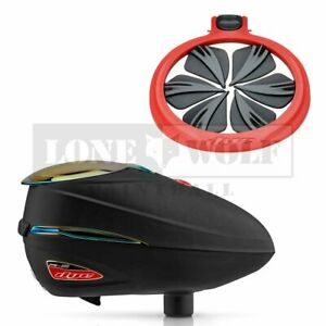 Dye Rotor R2 Quick Feed Combo - Black/Fire