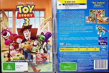 TOY STORY 3 DVD R4 PAL oz seller DISNEY PIXAR kids Walt Disney
