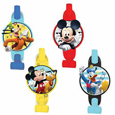 Mickey Mouse Blowouts Kids Birthday Party Favor Supplies ~ (8ct) On the Go, Toys
