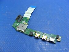"Asus Notebook 11.6"" X200CA-HCL1205O Audio Card Reader LAN USB Board w/Cable GLP*"