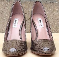 Dune Womens Faux Croc Stiletto Court Shoe UK 4 EU 37