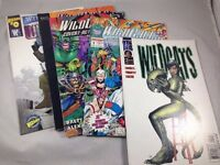 WILDCATS Comic Book Lot of 5 Image Comics Wild Storm Jim Lee #1 #0 Compendium