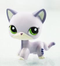 2'' Purple Short Hair Cat  Littlest Pet Shop LPS #2094 Kids Toys Kitty Animals