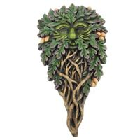 "Tree Spirits ""All Seeing Oak"" 28 cm Green Man Wall Plaque"