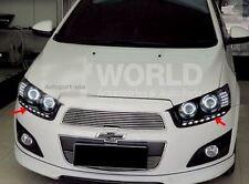 For Chevrolet Sonic Hatchback , Sedan 2013-2015 Front LED Day Light Running