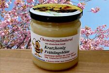 KRATZHONIG fester/harter ungecremter Bienen Honig Nektar von Chemnitztalimkerei