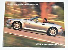 1996 BMW Z3 Roadster Convertible Full Color Sales Dealer Brochure