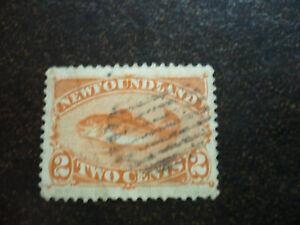 Stamps - Newfoundland - Scott# 48