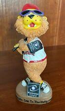 Washington Federal Wild Things Mascot Bear Ceramic/Bobble Head/ Nodder Mint