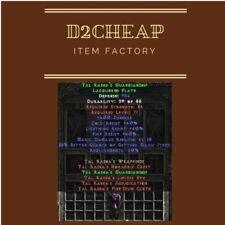 Tal Rasha's Guardianship Tal Armor - Diablo 2 Europe / East / West Ladder & NON