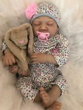 "CHERISH DOLLS REBORN DOLL CHEAP BABY DAISY REALISTIC 22"" NEWBORN LIFELIKE UK"