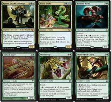 Simic Snake Deck - Kaseto - Mystic - Ambush Viper MTG Magic Gathering -60 cards