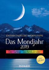 Das Mondjahr 2019 Der farbige Taschenkalender - Johanna Paungger (04.06.2018)
