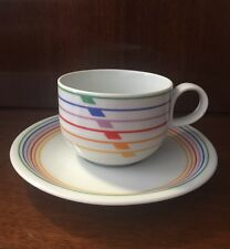 HARMONY BLOCK VISTA ALEGRE  SEXTET PORTUGAL CUP AND SAUCER MINT