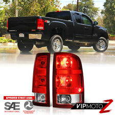 For 07-13 GMC Sierra 1500 2500HD 3500HD Tail Light Lamp Replacement L+R Assembly