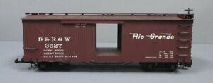Bachmann 93520 G Rio Grande Box Car #3527