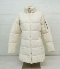 SNOZU Down/Synthetic Insulated Long White Women's Coat Size XL NEW Fast Shipping