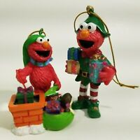 Sesame Street Elmo Christmas Ornaments Sesame Workshop 2008 2006