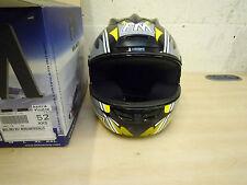 FM RRX RX1 Helmet Black, Anthracite& Yellow Size: 52/ XXS. FREE Mainland UK P&P
