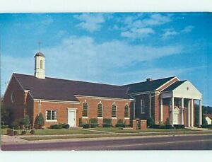 1950's CHURCH SCENE Detroit Michigan MI p4362