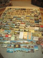 Canada Postcards & Souvenirs, 150+ Cards, Plastic Bank, Ashtray, Patches + More