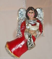 Pam Schifferl Peace Angel with Dove Christmas Ornament Excellent