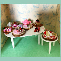 Doll house Miniatures Desserts & Cheese Board - Additional Items P&P FREE