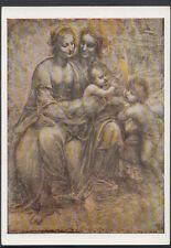 Artist Postcard - The National Gallery - Leonardo Da Vinci - Cartoon RR2448