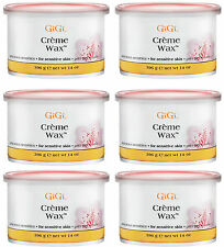6 Cans of GiGi Creme Wax 14 oz #0260