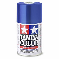 Bleu Métal Brillant Spray de 100ml-tamiya Ts19