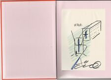 TADAO ANDO Endeavors #1 signed, drawing Japan Exhibition Catalog architecture