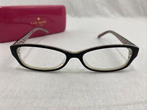 Kate Spade Sheba SS6 Full Rim Eyeglasses Black Frame Only 53[]16 135