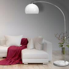 DEUBA® Design Bogenlampe Bogenleuchte Ø30cm Retro Schirm Stehlampe Stehleuchte
