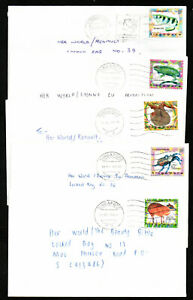 SINGAPORE 1998 Singapore Zoo set of 10, each fine used on neat commercial cover