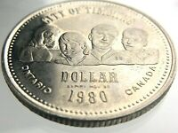 1980 City of Timmins Expired Trade Dollar Ontario Canada T189