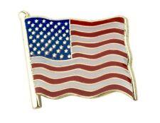 USA Flag Badge Pin US American United States Enamel Lapel