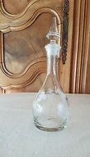 Carafe Ancienne à Vin Décanter Verre - Eau Whisky Liqueur Raisin Vigne