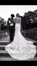 David Tutera backless wedding dress Size 6-8