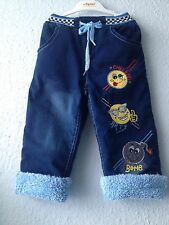 Jungen Winter Thermo Jeans Hose Gr.86,  92, 98, 104, 110