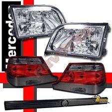 97-99 Mercedes Benz W140 S-CLASS S320 S420 S500 S600 Headlights & Tail Lights