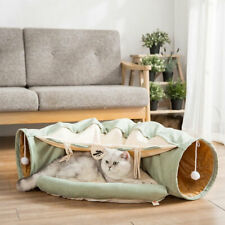 Collapsible Cat Bed Tunnel Tube Pet Interactive Play Toys For Cat Ferrets Puppy