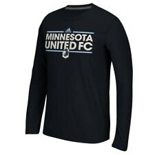 Minnesota United FC MLS Adidas Black Dassler Long Sleeve T-Shirt