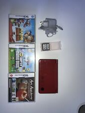 Nintendo DSi XL 25th Anniversary Edition Handheld System With Games